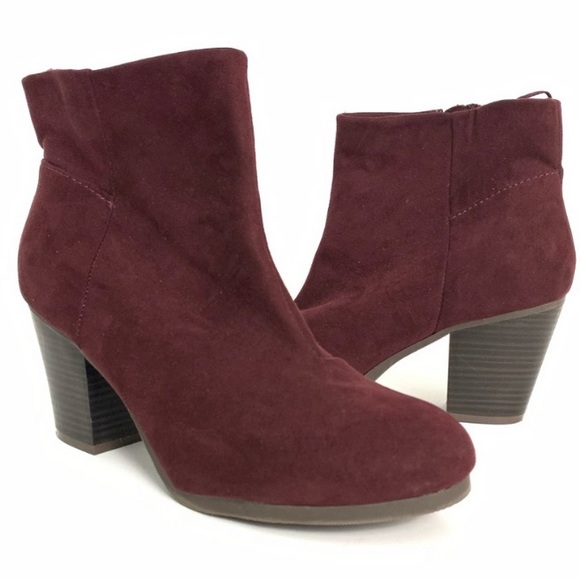 Old Navy Suede Ankle Booties